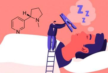 STUDIE: Nicotine zou een impact hebben op de slaap en diepe slaap voorkomen.