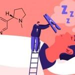 ÉTUDE : La nicotine aurait un impact sur le sommeil et empêcherait l'endormissement profond.