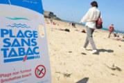 RECHTS: Steeds meer stranden zonder tabak en zonder e-sigaretten!