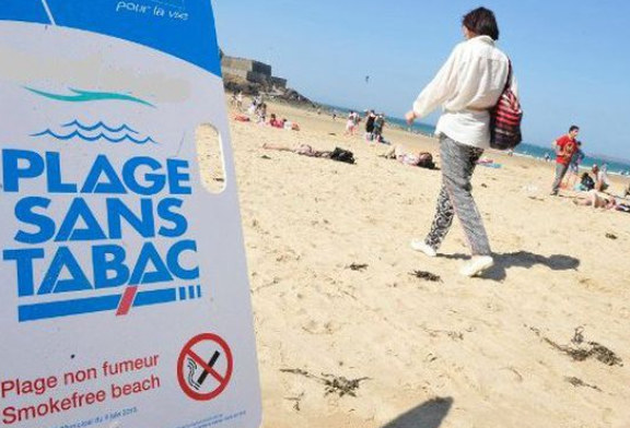 RIGHT: More and more beaches without tobacco and without e-cigarettes!