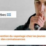 KANADA: Prävention des Dampfens bei jungen Menschen von Public Health