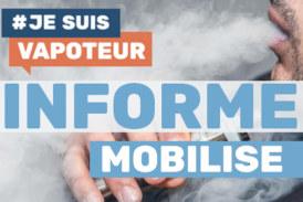 """AKTIVIST: """"Ich bin ein Vapoteur"""", eine Unterstützung zur Information, Mobilisierung und Verteidigung des Dampfens!"""