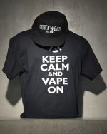 Keep Calm and Vape On T Shirt
