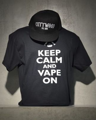 Keep Calm and Vape On T Shirt