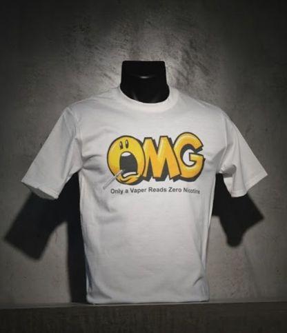 OMG Only a Vaper T Shirt