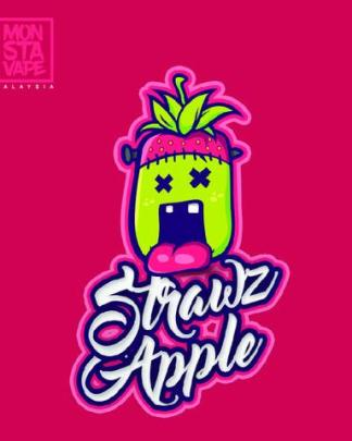 Monsta Vape Strawz Apple e liquid