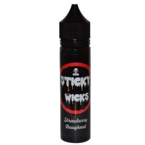 Sticky Wicks Strawberry Doughnut 50ml Short Fill E Liquid
