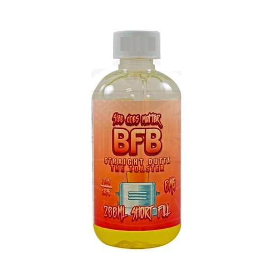 BFB Straight Outta Toaster 200ml Short Fill e liquid