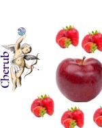 Apple Strawberry Cherub E Liquid Juice