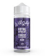 Wild Roots Royal Apricot Forest Blackcurrant Acai 100ml short fill e liquid