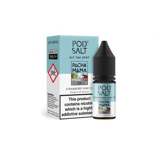 Pod Salt Strawberry Kiwi Ice Pacha Mama