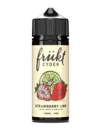 Frukt Cyder Strawberry Lime 100ml short fill e liquid bottle