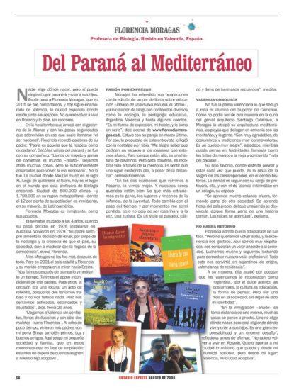 Entrevista revista Rosario express