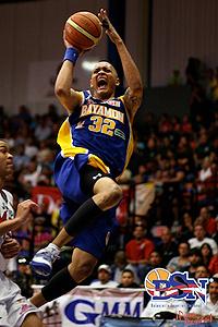 Carmelo Lee terminó la noche con 18 puntos en causa perdida (Foto: BSNPR.com)