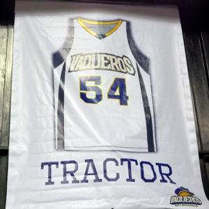 Los Vaqueros retiraron el #54 utilizado por el Tractor (Foto suministrada)