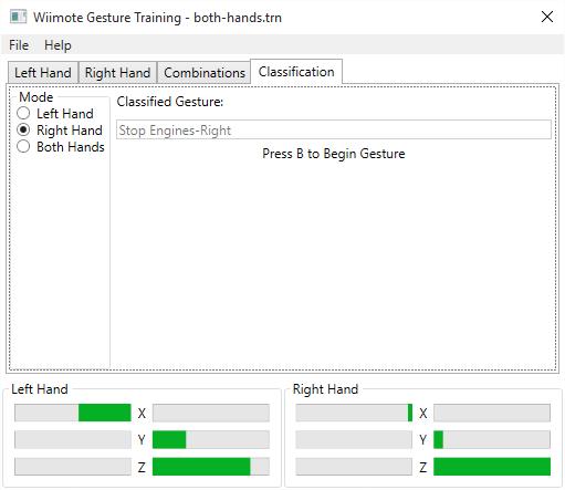 WiimoteGestureClassifier