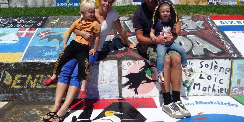 Rondje Atlantic met jonge kinderen