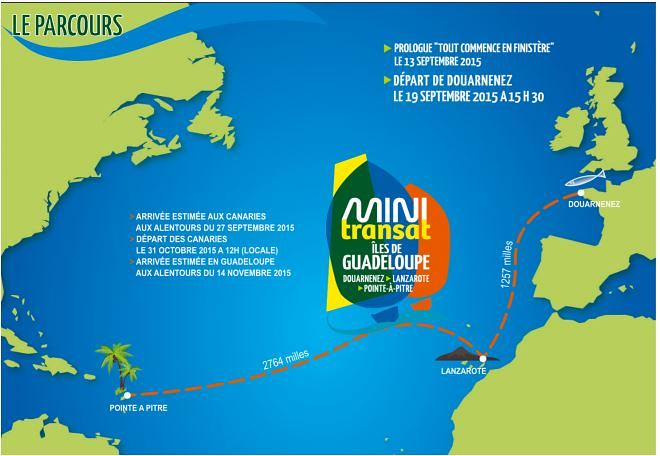 Gerckens start morgen in Mini Transat
