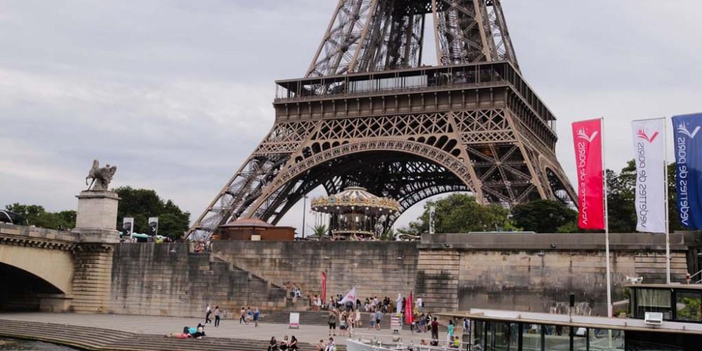 Op de Seine naar Parijs