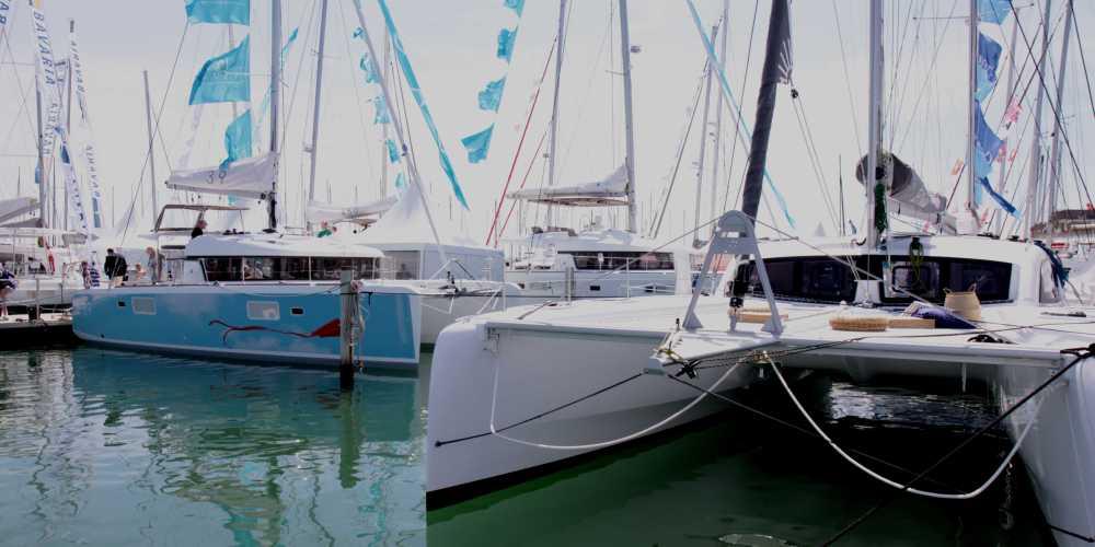 Multihull boat show in La Grande Motte (FR)