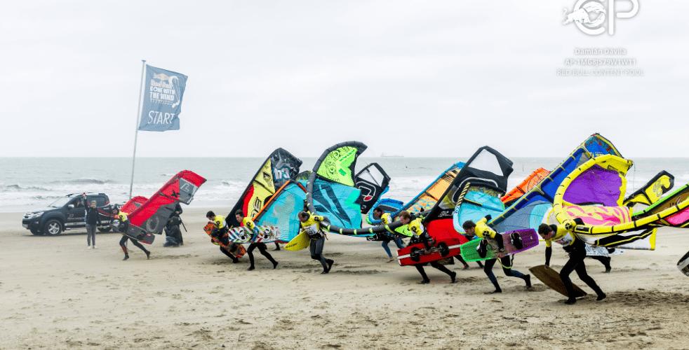 Beste Belgische kitesurfers trotseren morgen stormwind tijdens unieke wedstrijd