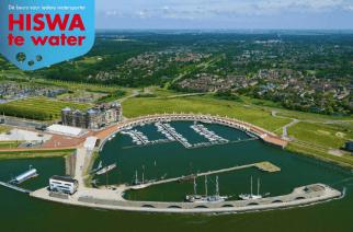 HISWA te water in 2018 weg uit Amsterdam naar Lelystad.
