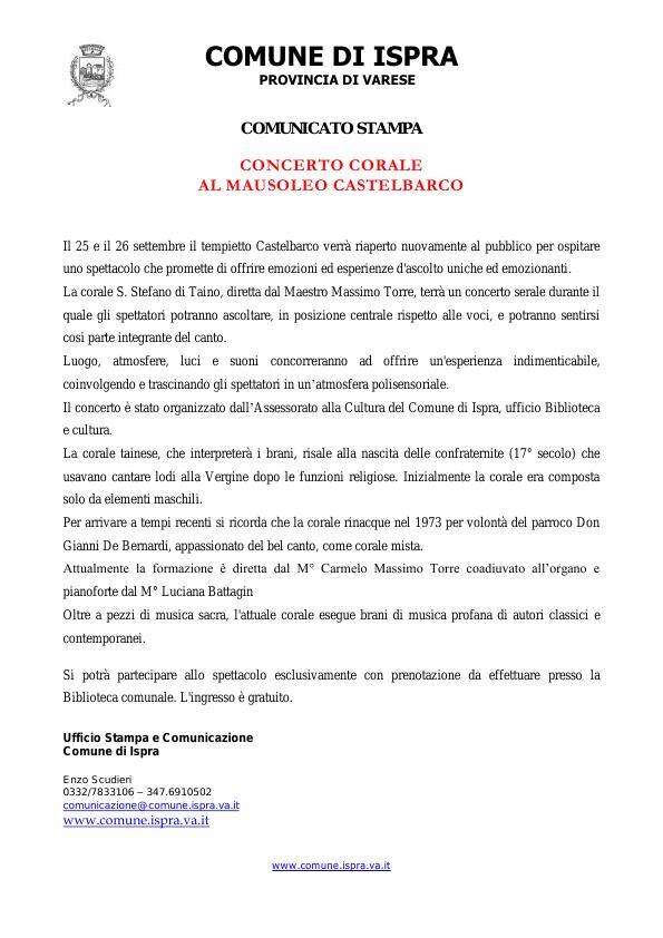 Ispra Castelbarco