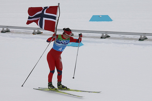 Lille Marit Bjørgen er den største av alle- tidenes Olympier!