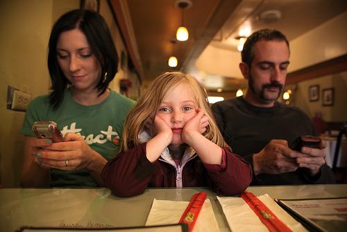 Barn tåler sinte foreldre- sett grenser!