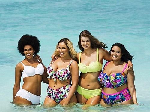 Bademote for Plus Size kvinner-  Jenny Skavlan Go Home!