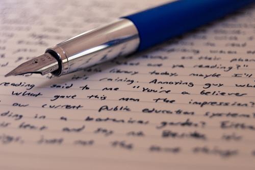 Til alle skrivere …
