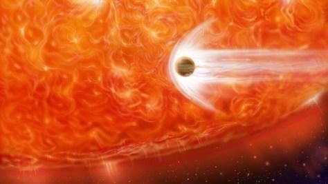 Stjerne sluker planet (Foto: Illustrasjon: NASA)