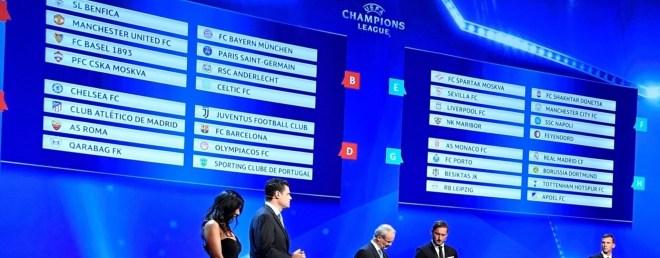 Champions League-trekningen er her!