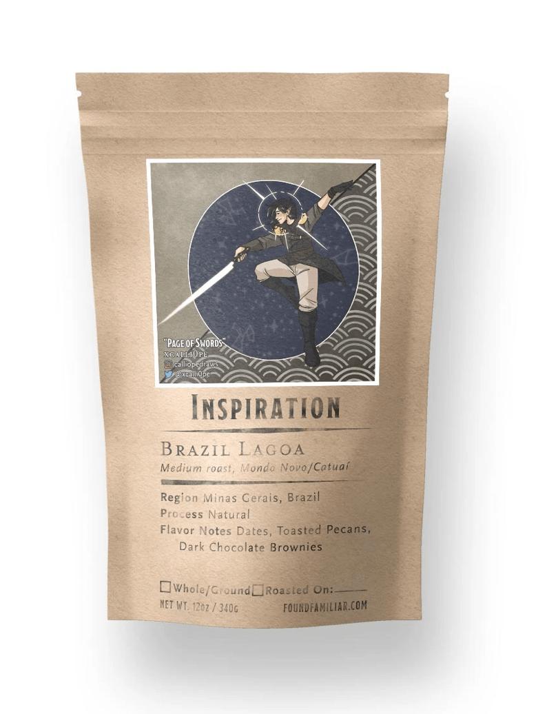 1 pound bag of Inspiration Coffee