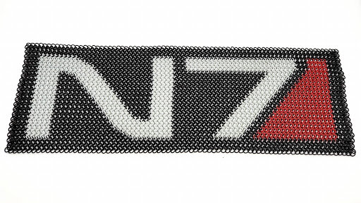 Chainmaille Inlay reds N7