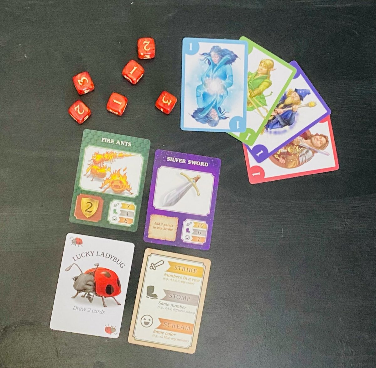 Dragonwood Cards and Dice
