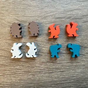 Forest Critter Meeples