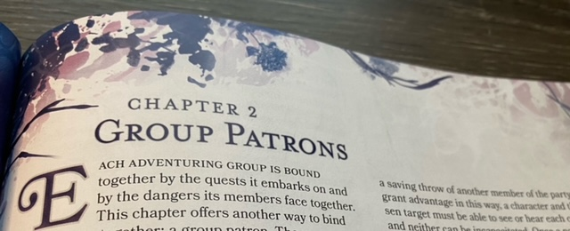 Chapter Two Group Patron