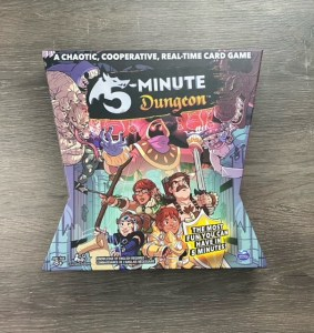 Game box for 5 Minute Dungeon