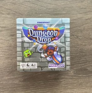 Game box for Dungeon Grop