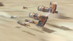 Podracer from Star Wars