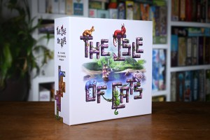 The Isle of Cats Game Box Cover