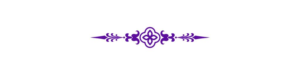 Purple Embellishment