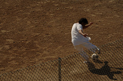 Detainee Plays Soccer at Gitmo