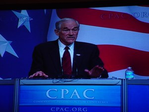 Ron Paul at CPAC