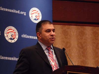 Citizens United's President David Bossie