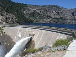 OSaughnessy Dam in Yousemite National Park (wikipedia)