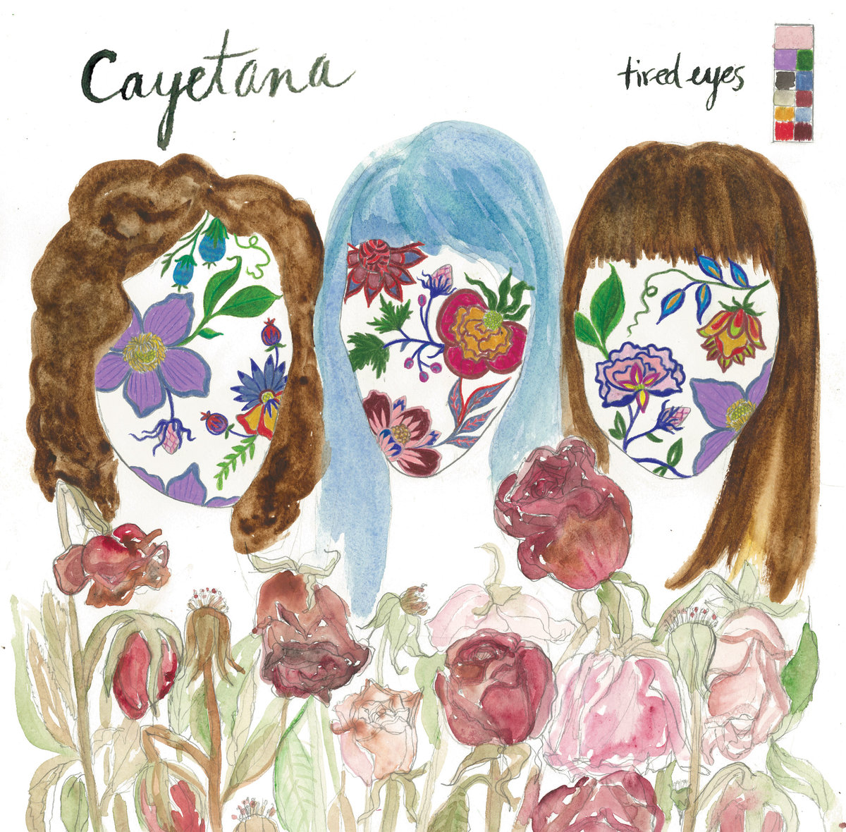 cayetana tired eyes album art