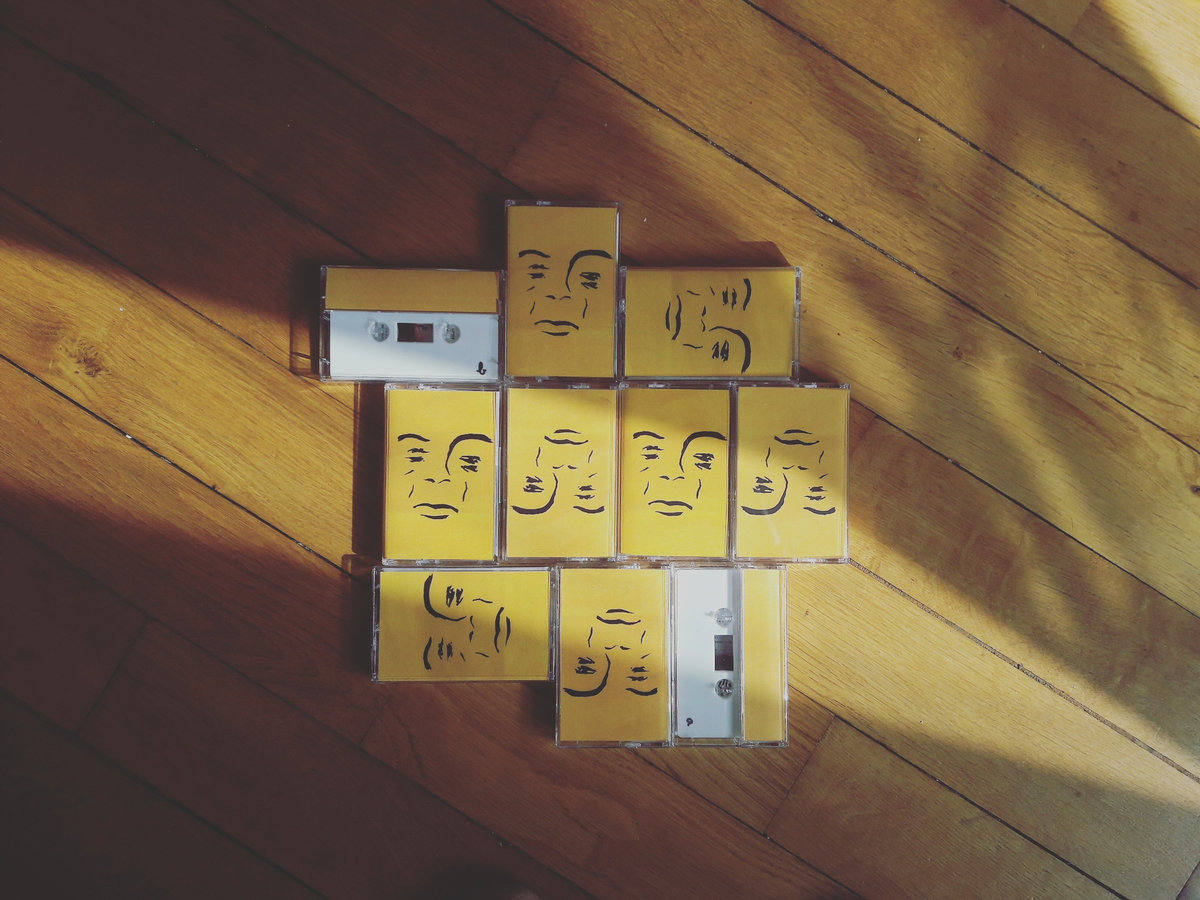 photo of cassette tapes of glider demos