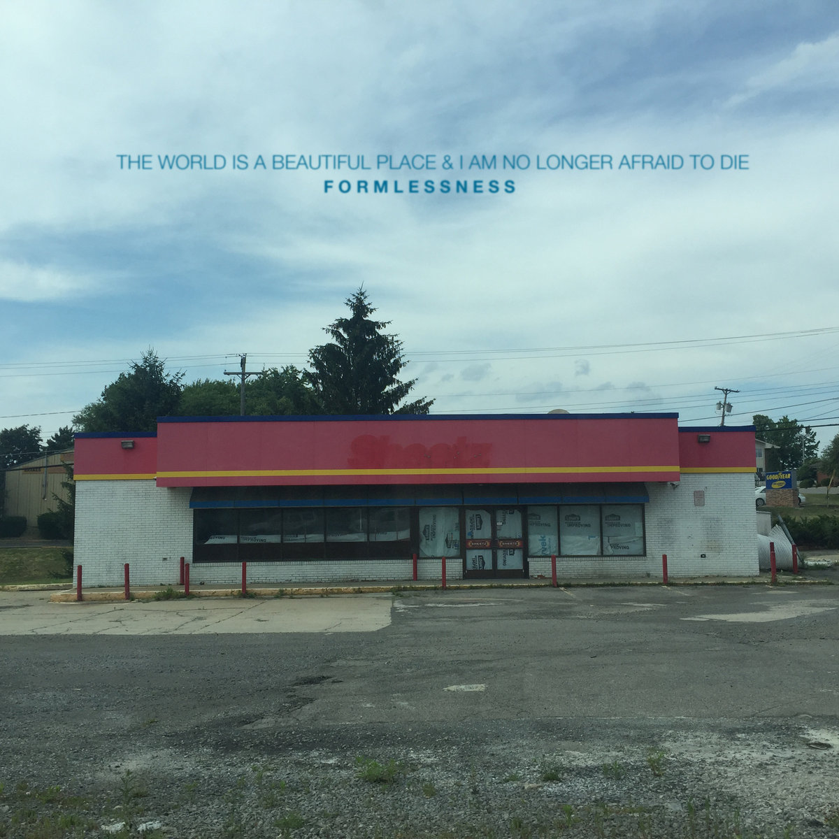 the world is a beautiful place formlessness album art